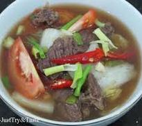 Daging Kuah Sawi