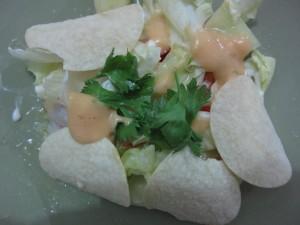 Resep Salad Keripik  Jagung Manis
