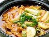 resep Gochu jang Chigae ( sup kacang merah )