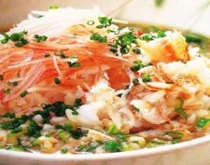 resep bubur salmon