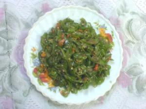 resep oseng lombok hijau