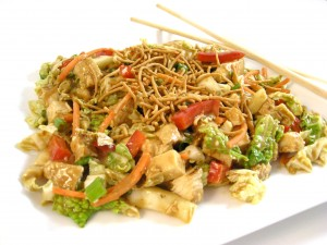resep shanghai chicken salad