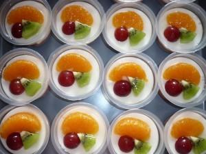 resep puding buah 3 warna