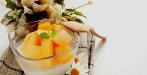 resep puding soya dengan cocktail