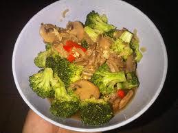 resep tumis brokoli jamur