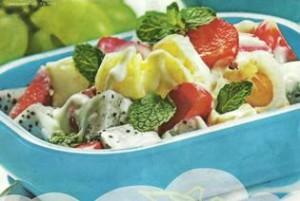 resep Salad Buah Tabur Mayonaise