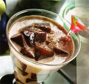 resep jus cokelat buah