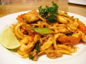 resep mi goreng seafood