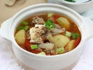 resep sup kentang daging