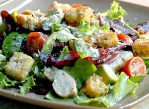 Garden-Salad-with-Vinaigrette-Dressing