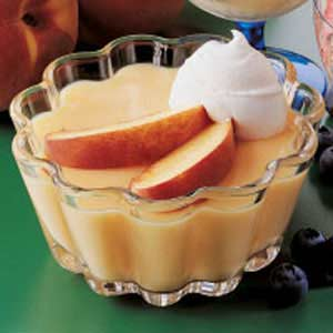 Puding Peach Bavarian